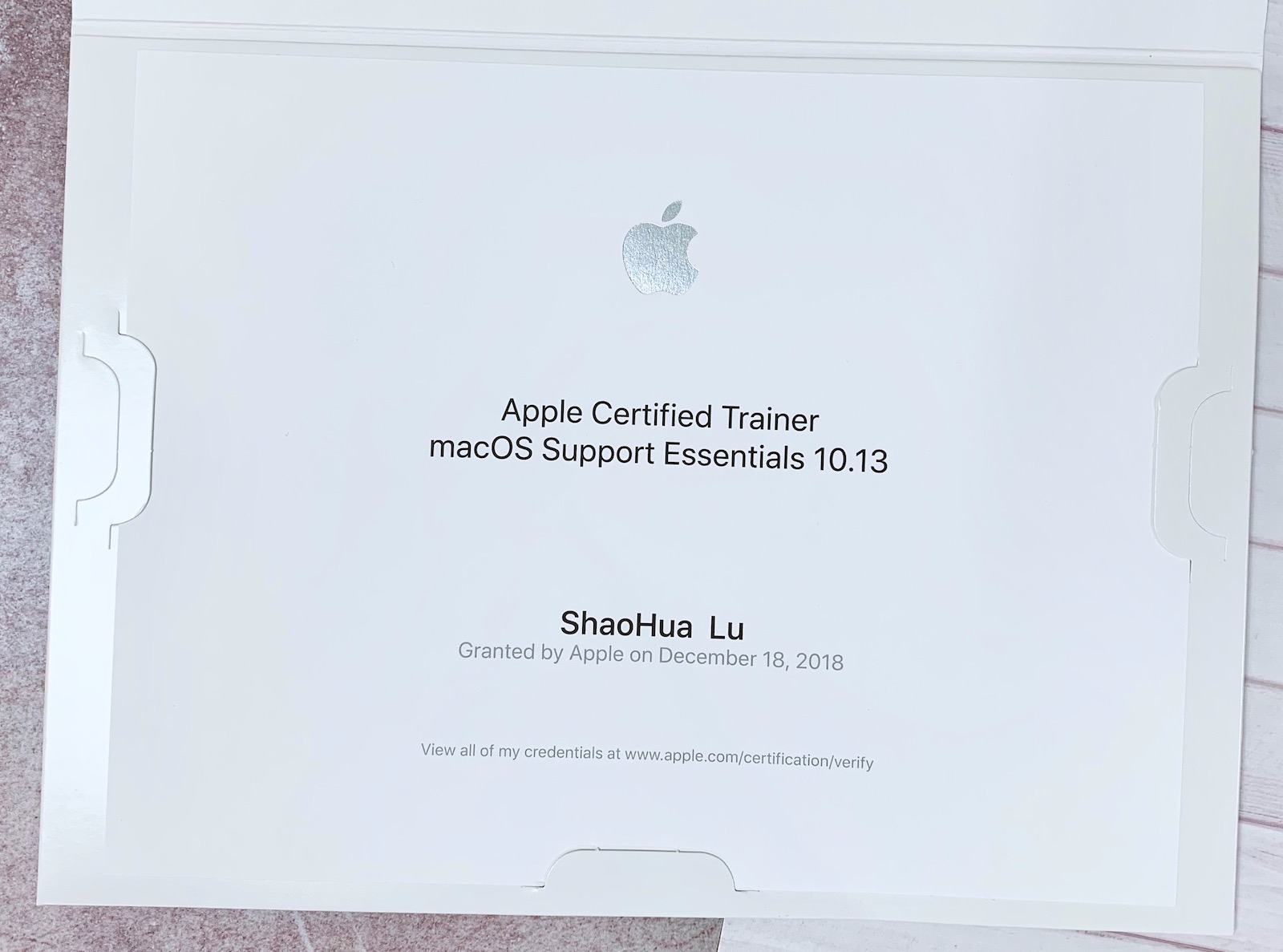 Apple Certified Trainer